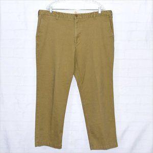 Dockers Pants - DOCKERS Flat Front Khaki Pants Size 42 x 30